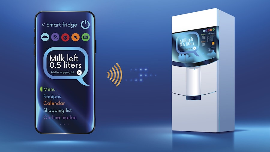 Smart Fridge Design Wi-Fi