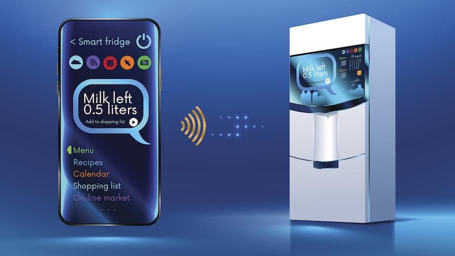 Smart Fridge Design Wi-Fi