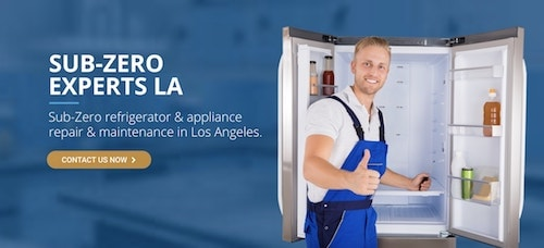 subzero fridge repair la logo
